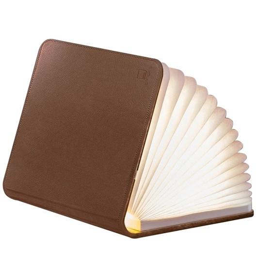 Gingko Leather Smart Book Light Mini Brown Leather