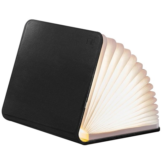 Gingko Leather Smart Book Light Mini Blackleather