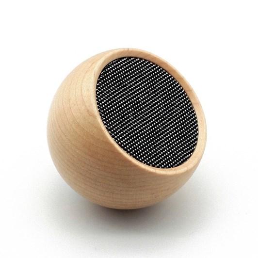 Gingko Tumbler Selfie Speaker Maple