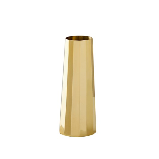 West Elm Foundation Brass Vase Slim