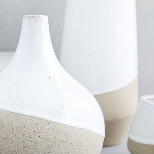 West Elm Half Dipped Vase Med Skinny