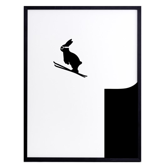 Ham Ski Rabbit Print
