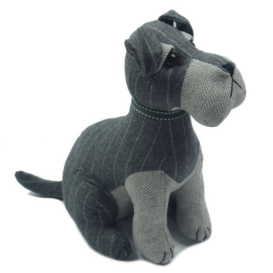 Dora Designs Schnauzer Dog Chester Doorstop