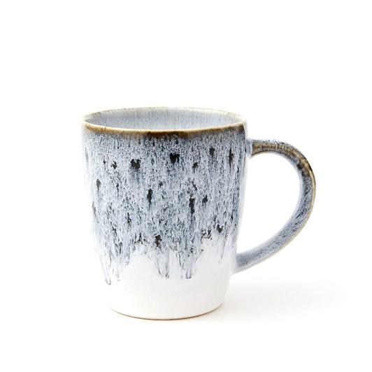 West Elm Reactive Glaze Black-White Mug