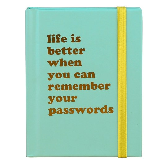 Password Book Life Is Better