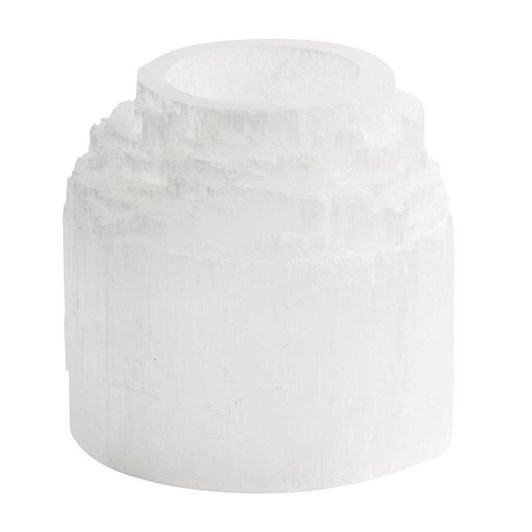 Pottery Barn Selenite Tealights - Single