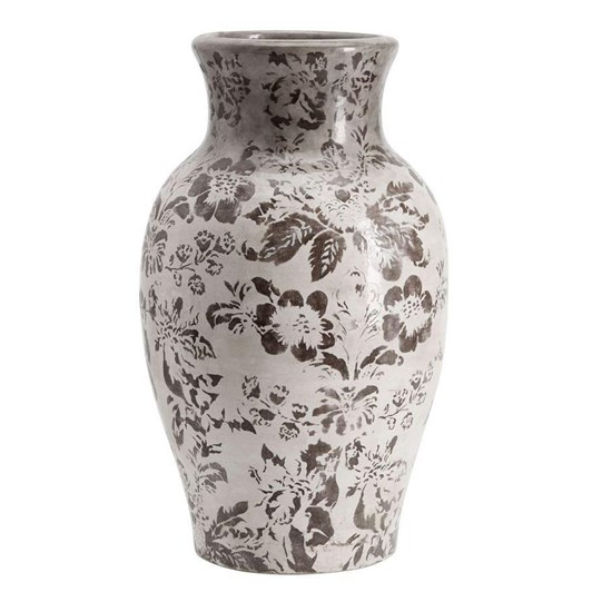 Pottery Barn Collette Floral Vase Large