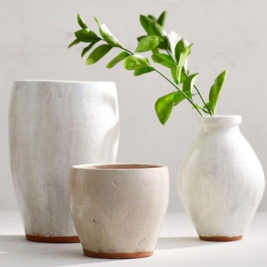 Pottery Barn Shay Vase Cachepot