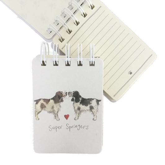 Alex Clark Super Springers Small Spiral Notepad