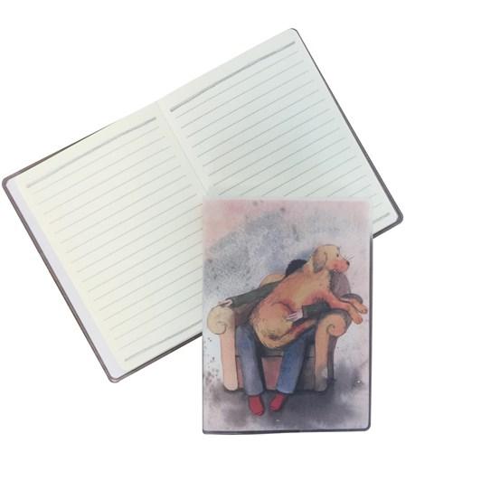 Alex Clark Lap Dog Jacket Notebook