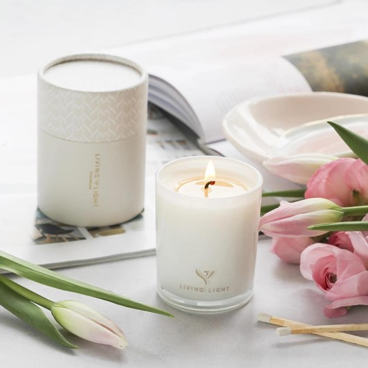 Living Light Dream Passion & Guava Mini Soy Candle 30 Hours