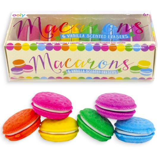 Ooly Macaron Scented Erasers Box 6