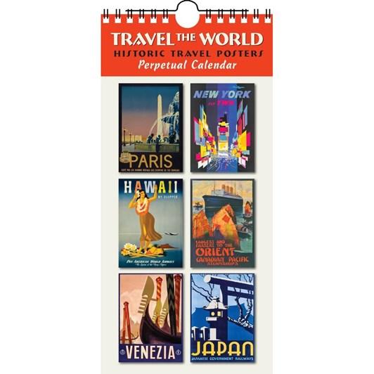 Travel Posters Perpetual Calendar