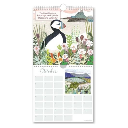 The Great Outdoors Perpetual Calendar