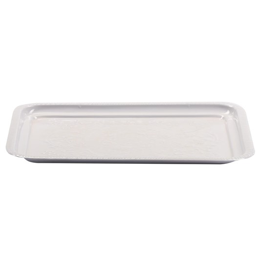 Bazar Deluxe Rectangle Tray White