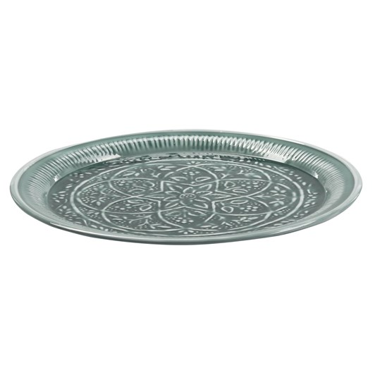 Bazar Deluxe Deco Tray Light Green 43cm