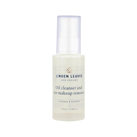 Linden Leaves Cleanse & Tone Oil Cleanser & Eye Makeup Remover 100ml