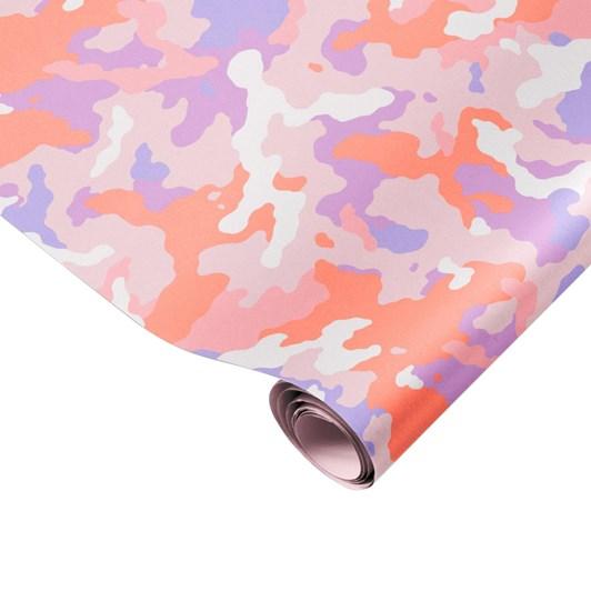 Made Paper Co. Fluoro Camo Gift Wrap Sheet