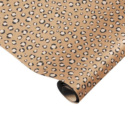Made Paper Co. Leopard Print Gift Wrap Sheet
