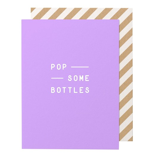 Made Paper Co. Pop Some Bubbles-Greeting Card