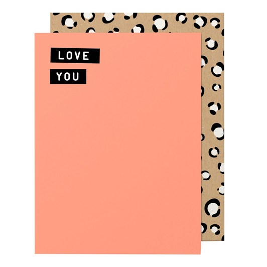 Made Paper Co. Love You-Greeting Card