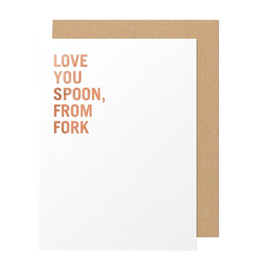 Made Paper Co. Love You Spoon-Greeting Card