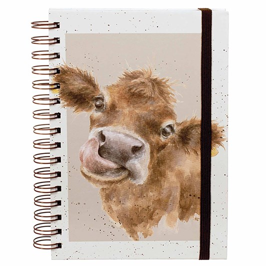 Wrendale Country Set: Spiral Notebook Mooo