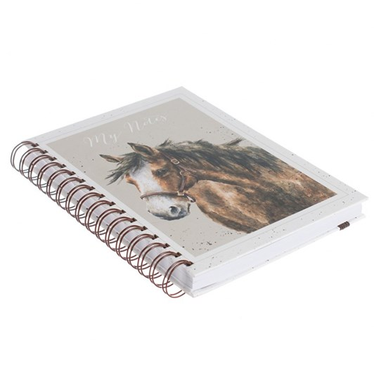 Wrendale Country Set:Spiral Notebook Horse A5