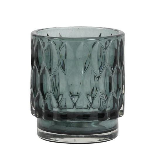 Light & Living Tealight 7X8 Cm Grace Glass Dark Green