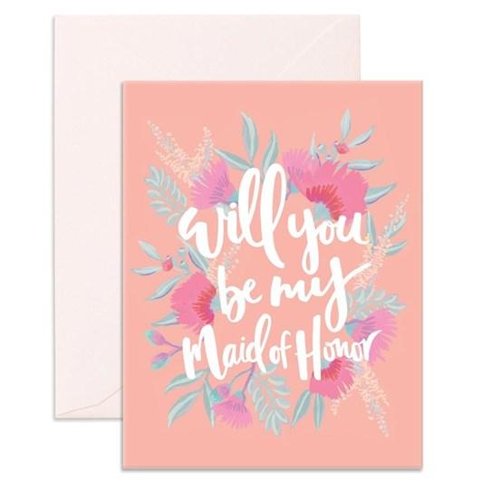 Fox & Fallow Will You Maid Card