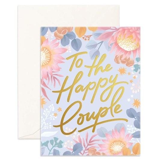 Fox & Fallow Happy Couple Card