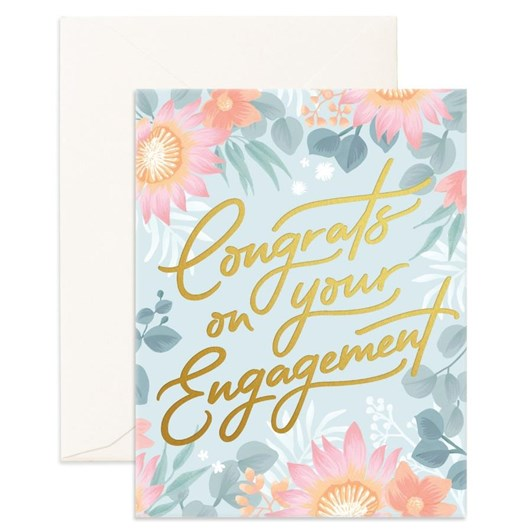 Fox & Fallow Contrats Engagement Card