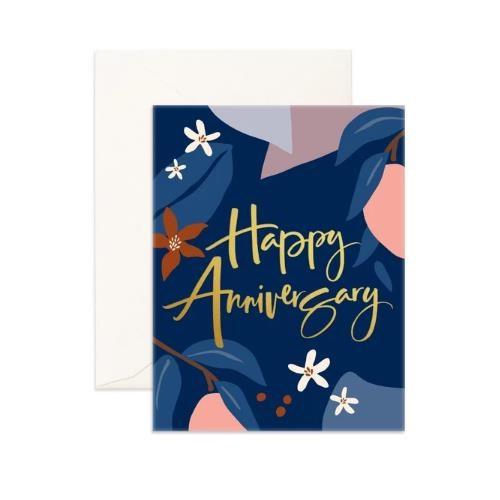 Fox & Fallow Happy Anniversary Arcadia Card