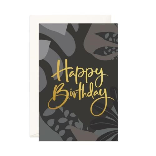 Fox & Fallow Happy Birthday Night Jungle