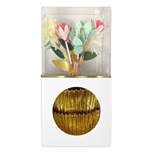 Meri Meri Floral Bouquet Cupcake Kit