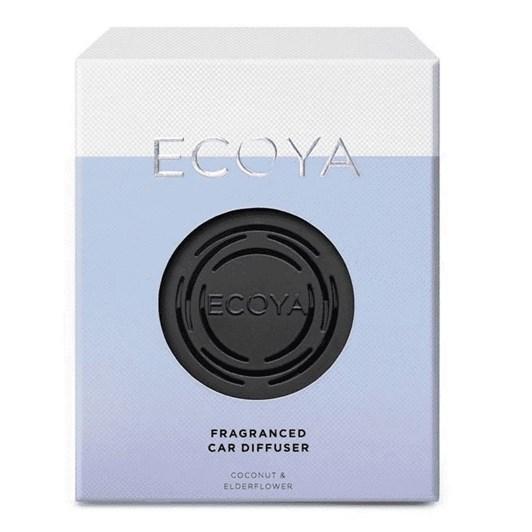 Ecoya Car Diffuser - Coconut & Elderflower