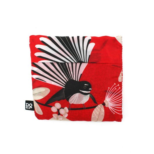 DQ&CO Flirting Fantails Fold Out Bag Red