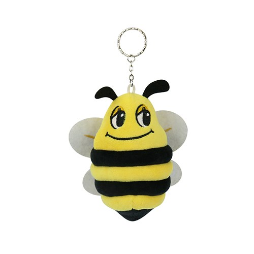 DQ&CO Cute Bee Plush Key Ring