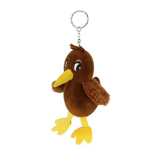 DQ&CO Cute Kiwi Plush Key Ring