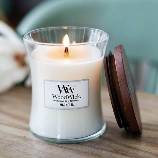 WoodWick Magnolia Medium Candle