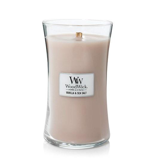 WoodWick Vanilla & Sea Salt Large Candle