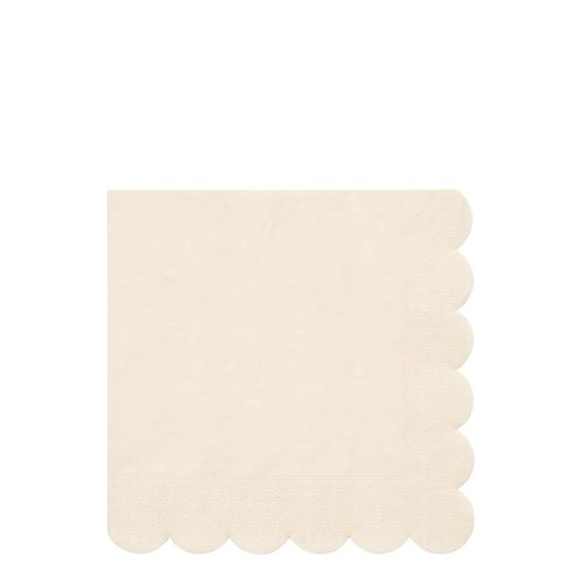 Meri Meri Cream Simply Eco Large Napkins