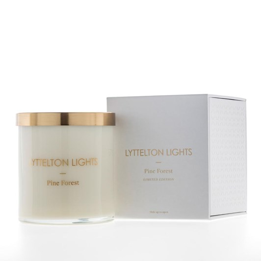 Lyttelton Lights Pine Forest Candle - Limited Edition