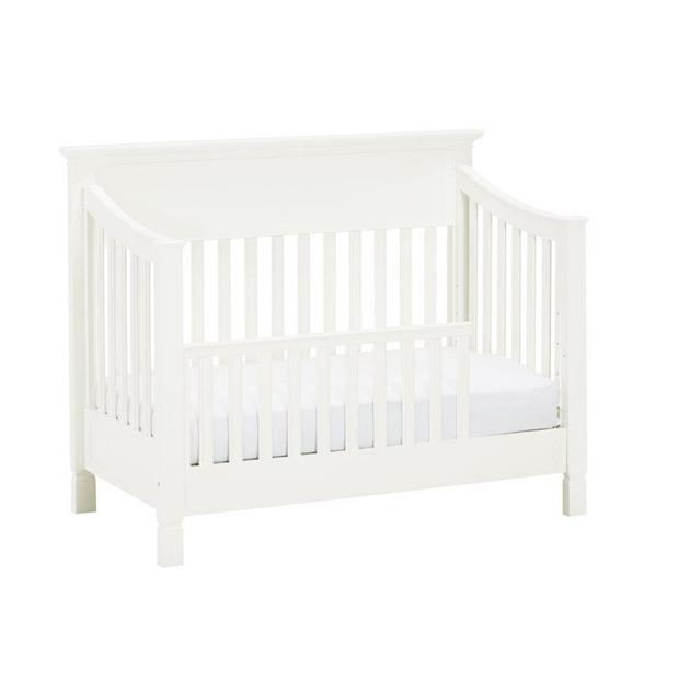 Pottery Barn Kids Larkin Toddler Bed Conversion Kit - white