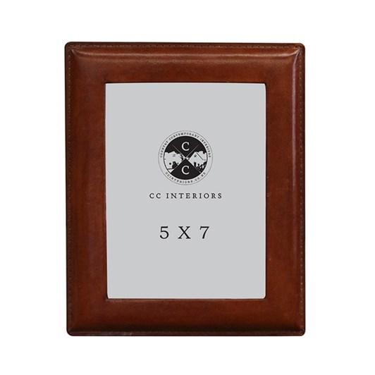 CC Interiors Leather Photo Frame 5x7