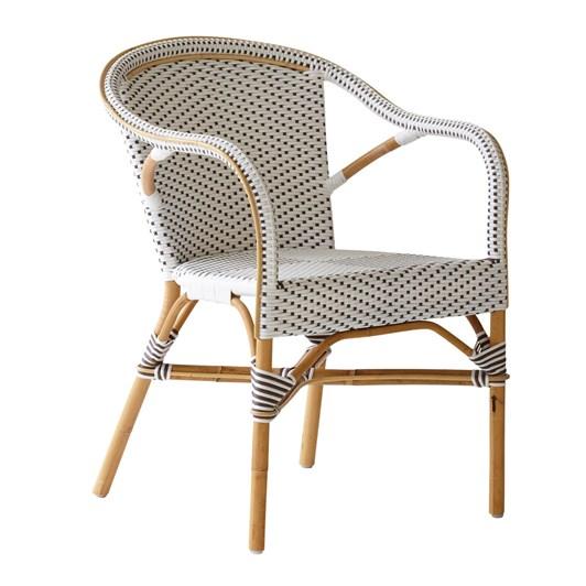 Sika Madeleine Arm Chair White