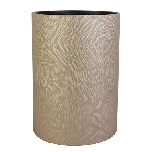 Waste Bin Liner Faux Leather Slv Lizard
