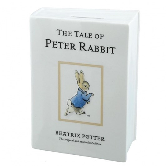 The Tale Of Peter Rabbit Money Bank