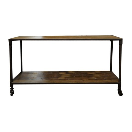 CC Interiors Console In Old Recycled Pine 1600x450x835cm