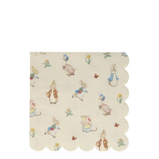 Meri Meri Peter Rabbit & Friends Large Napkin